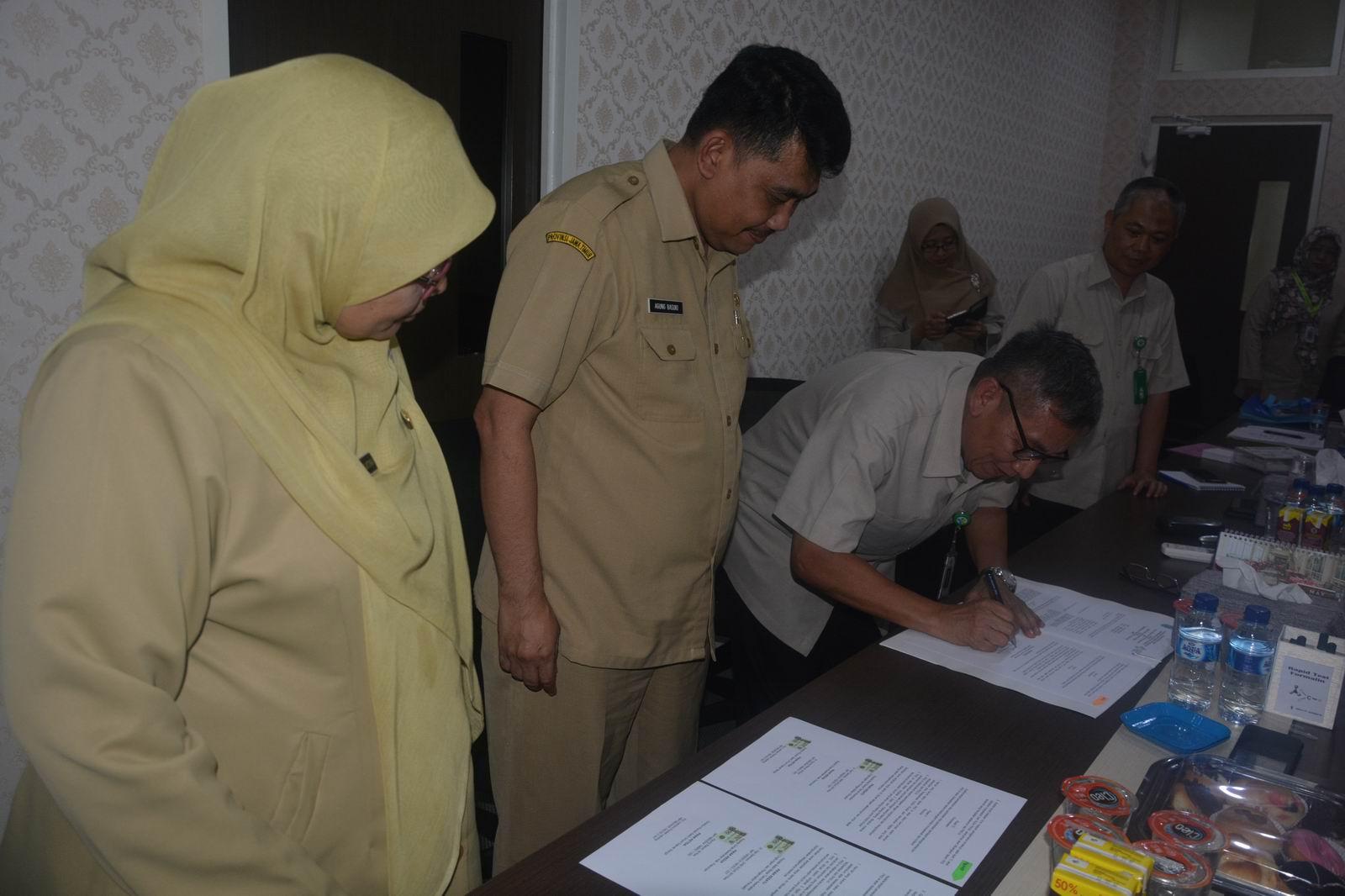 BBTKLPP Surabaya Tandatangani Kerja Sama Uji Resistensi Anti Mikrobial dengan Dinkes Kab Pasuruan dan RSUD Bangil Kab Pasuruan