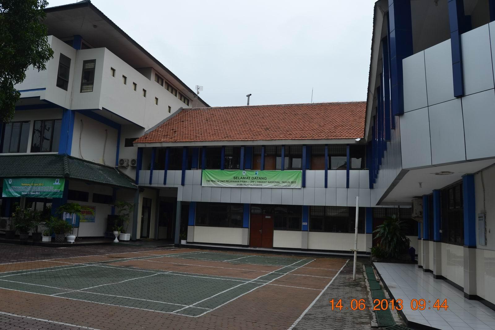 Gedung Unit Utama BBTKLPP Surabaya