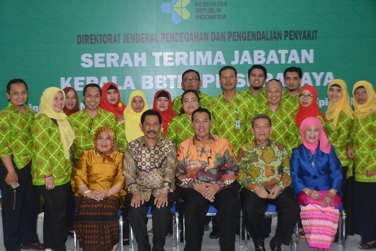 Sertijab Kepala BBTKLPP Surabaya